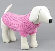 Mode für Haustiere schöne süße Wollfaden weben Pullover für Haustiere Hunde (Farbe sortiert, Größen)