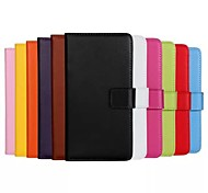 Wallet Style Color PU Leather Cover with Stand and Card Slot for iPhone 6 Plus(Assorted Color)
