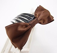 Handmade Ribbon Bow Five Tooth Hair Comb