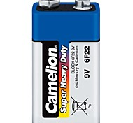 Camelion Super Heavy Duty 9V Battery in Plastic Box of 6 PCS