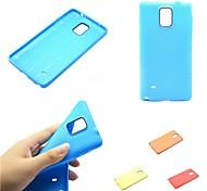 Funda de silicona protectora suave para Samsung Galaxy Note 4