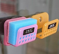 Creative Multi-functional Hanging Sucker Hook Tray(Random Color)