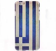 Greek Flag Design Hard Case for iPhone 6 Plus