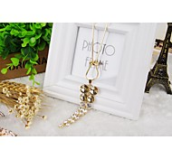 2014 Long Size Aritificial Gemstone Sweat Chain For Girl