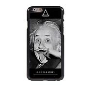 Moustache Einstein Design Aluminum Hard Case for iPhone 6 Plus