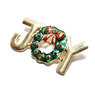 Christmas Gift Christmas Tree JOY Brooch Brooches