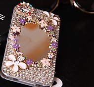 Luxury Mirror Surface Models with Diamond Hard Back Cover for iPhone 4 /  iPhone 4S