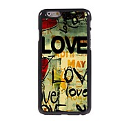 LOVE Design Aluminum Hard Case for iPhone 6