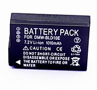 1010mah 7.2V Digitalkamera-Akku DMW-BLD10E für anwendbar Panasonic Lumix DMW-GF2