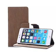 High-end Business Tiger Stripes Leather Flip Phone Shell Cover for iPhone 6(Assorted Colors)