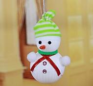 Stripe Hat Snowman Recommend New Christmas Decorations(Random Color)
