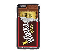 Chocolate Design Aluminum Hard Case for iPhone 6
