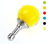 Anti-dust Fashionable Earphone Jack for iPhone and iPad (Glow ball, Assorted Colors)