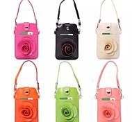 Защитные ПУ Кожаный чехол с сенсорным экраном мешочек с слотом для карт Samsung S5 / i9082 (разные цвета)