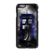 Police Box Design Aluminum Hard Case for iPhone 6 Plus