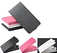 venda quente 100% couro pu couro flip-up e para baixo caso para tcl S960 (cores sortidas)