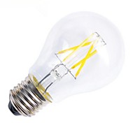 Lámparas LED de Filamento Decorativa ON G60 E26/E27 4.5 W 4 COB 400 LM Blanco Cálido AC 100-240 V