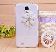 Diamant-Perlen Blütenblatt rückseitigen Abdeckung für Samsung Galaxy S4 Mini i9190