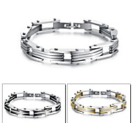 Personality Fashion Joker Locomotive Man Bracelet Euramerican Style