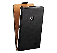 Genuine Leather Flip Case for Nokia Lumia 520