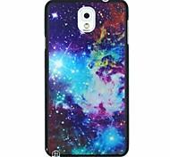 colorido galaxia patrón pc caso duro para Samsung Galaxy Note 3