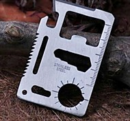 New Rescue Multi Function Swiss Army Card Knife Pocket Size For Outdoor Camping