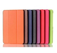 10.1 Inch Triple Folding Pattern High Quality PU Leather for Toshiba Encore 2(WT10)(Assorted Colors)