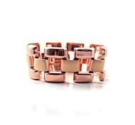 Copper Color Strap Bracelet 17CM
