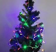 luces de navidad luces de cadena lámparas de araña de luces LED Decoración del festival cadena