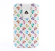 Owls Pattern with Buckle Pouch Bag Cover for iPhone 6 Plus