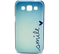 Lächeln Muster Hülle für Samsung Galaxy I8552 Win