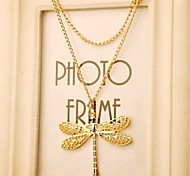 Love Is Your New Dashion Sragonfly Chain Necklaces