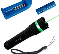 LT-HJA83 Green Laser Pointer (1MW, 532nm, 1x16340, Black)