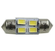 Festoon Car Cold White 2W SMD 5730 >8000 Reading Light