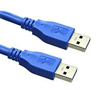 sensecheering 3m usb3.0 9.84 pies macho a USB 3.0 cable de extensión USB del envío libre masculino