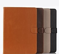 Deux pliage modèle 9,7 pouces étui en cuir pour iPad 2 (air couleurs assorties)