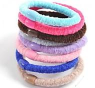 1pcs Simple and Practical High Elastic Hair Bands(Random Colors)
