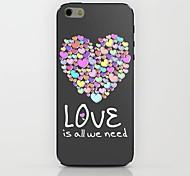 cor do caso duro teste padrão do amor para iphone 6