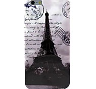 Retro Tower Pattern TPU Soft Case for  iPhone 6 Plus