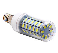 4w e14 led luces de maíz t 48 smd 5730 350-400 lm blanco natural ac 220-240 v
