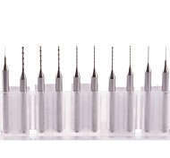 NEJE 0.2~1.0mm Tungsten Steel Drill Bits Set for CNC / PCB - Silver