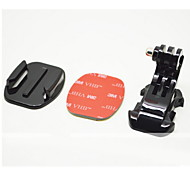 YouOKLight®J-Hook Buckle Flat Mount with 3M Sticker, for GoPro Hero3+/3/2/1
