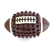 Dogs Toys Ball / Chew Toy Durable Plastic Brown
