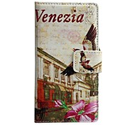 Fashion Venice Pattern PU Leather Full Body Case for LG G3