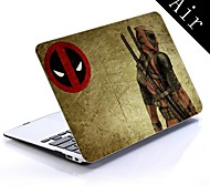 Dead Pool Wade Wilson Marvel Comics Design Full-Body Protective Plastic Case for 11-inch/13-inch New MacBook Air
