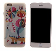 Cartoon PC Hard Case for iPhone 6
