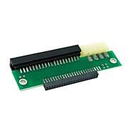 """ordinateur portable smarll portable 44 broches IDE 2.5 """"à 40pin pc 3.5"""" adaptateur ide pcba avec une puissance ide pour disque dur"""