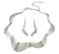 Alloy Fashion Necklaces Earrings Suit(Random Color)