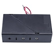 3 Slot x D Size Battery Power Source Holder Case Box with Leads and Cap