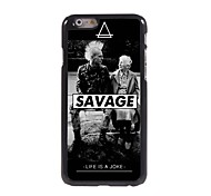 SAVAGE Pattern Aluminum Hard Case for iPhone 6 Plus